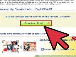 how to create photo cards using photo card maker 10 steps