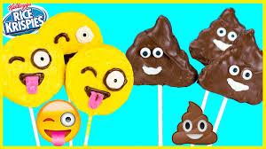 poo emoji rice krispie treats smiley emoji rice krispies