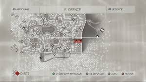 Assassin S Creed 2 Map 4 1 Florence Soluce Assassin U0027s Creed Ii Supersoluce