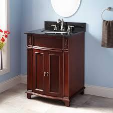 24 Bathroom Vanity With Drawers 24 Kinloch Vanity For Undermount Sink Mahogany Bathroom