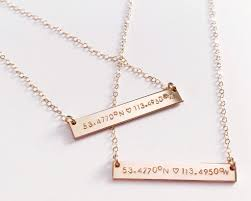customizable necklaces mint birch forever
