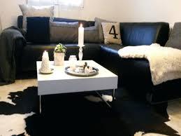 déco canapé noir design d intérieur canape salon scandinave canapac style de luxe