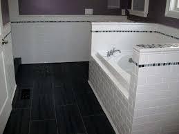 bathroom gorgeous bathroom subway tile floor bathroom subway