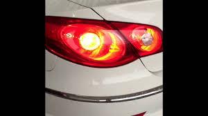 2011 vw cc led tail lights vw passat cc 3 6 4motion rear lights led conversion youtube