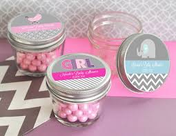 personalized baby shower favors baby shower mini jar favors 4 oz jar small
