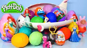 littlest pet shop easter eggs play doh littlest pet shop disney princess kinder eggs