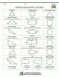 2d shapes worksheets maths free printable geometry match koogra