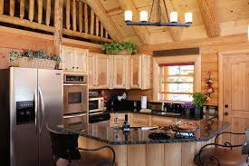 Kitchen Countertop Choices Log Home Kitchen Counter Choices Real Log Homes