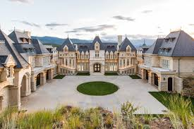 17 5 million chateau v in evergreen is a mansion modeled after