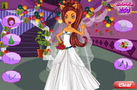 Wedding Dress Up Games For Girls Monster High Games Play Free Games Online