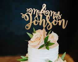 cake topper for wedding etsy