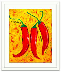 Chili Pepper Home Decor Kitchen Print Home Decor Kitchen Wall Print Chili