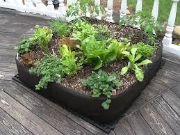 Raised Gardens For Beginners - fabric raised bed vegetable gardens instant organic garden