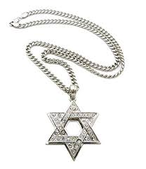 star chain necklace images New iced out 6 point star hip hop pendant 24 quot cuban jpg