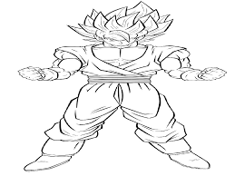 printable dragon ball z coloring pages coloring pages goku