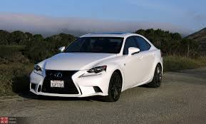 lexus isf white 2015 lexus is 350 f sport review with video