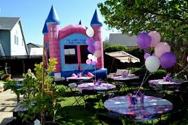 ideas for backyard bday party decorating of party