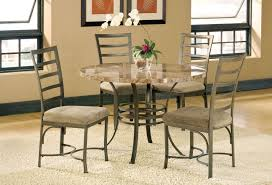Dining Room Table With Sofa Seating Capella Table And 4 Side Chairs Levin Furniture