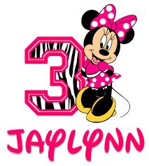 minnie mouse birthday custom minnie mouse zebra birthday shirt