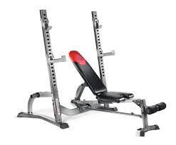Cheap Weight Bench With Weights Amazon Com Bowflex Fold Up Olympic Bench Adjustable Weight