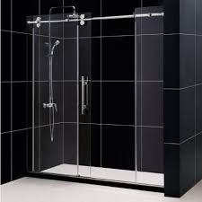 bathroom make your own frameless shower door shower door film