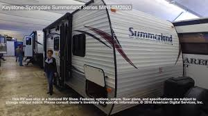 keystone springdale summerland series mini sm2020 youtube