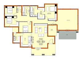 Contemporary House Plans With Photos In South Africa Floor Plan Code Mhd 2015020 Modern House Designs Beds 4 Baths 3