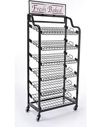 Dome Bakers Rack Get The Deal Displays2go Baker U0027s Rack Storage Unit With Tilting