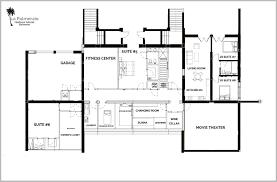 la fitness floor plan floor plans la palmeraie oceanfront villa rental