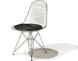 Wire Patio Chairs by Eames Wire Chair With Wire Base Hivemodern Com