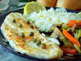 cuisine du poisson filet de poisson au four ou sole aux légumes sautées le