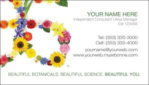 Buy Business Card Arbonne Business Card Design 1