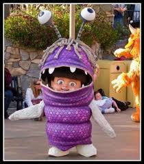 Monsters Inc Costumes Real Life Boo Is Scary Cute Boo Monsters In