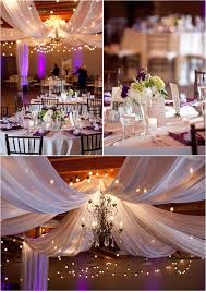 Wedding Reception Decorations Lights 88 Best White Gold Silver Weddings Images On Pinterest