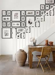 Ideas For Staircase Walls Scrabble Wall Family Photo Ideas Display Home Design 10 Frames