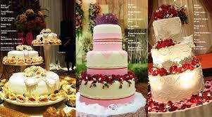 wedding cake pelangi pesta pernikahan