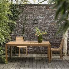 teck grade a awesome table de jardin en teck ideas amazing house design