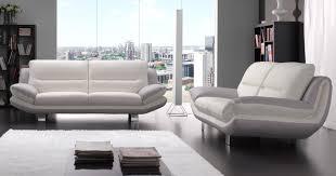 canapé cuir bicolore canapé cuir bicolore contemporain canapé idées de décoration de