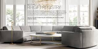 restoration hardware bridal gift registry gift registry home rh modern