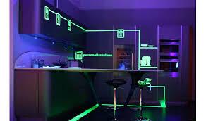 led kitchen lighting ideas great strip regarding prepare 9