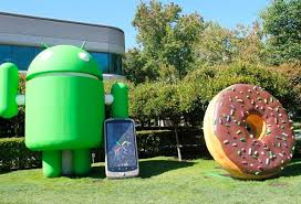 android statues s android celebrates fourth birthday the register