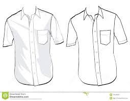 shirt template stock photos image 10446903