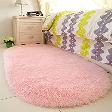 Pink Area Rug Yoh Fluffy Pink Area Rugs For Bedroom Rooms