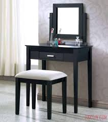 Corner Vanity Table Other Vanity Table Set Black Makeup Table With Mirror Vanity