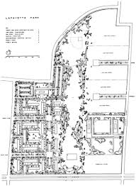 Mies Van Der Rohe Floor Plan by Gallery Of Ad Classics Lafayette Park Mies Van Der Rohe 22