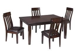 signature design by ashley haddigan 5 piece rectangular dining