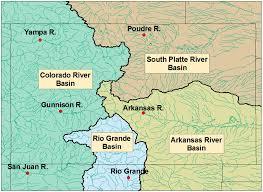 Platte River Map Long Range Forecasting Of Colorado Streamflows Based On Hydrologic