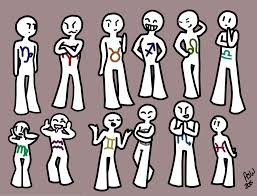 the western zodiac signs humanized sort of by mustacheducttape