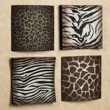 Safari Bathroom Ideas Safari Black U0026 White Zebra Print Bath Accessories Bathroom