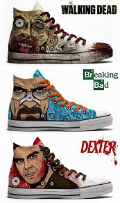 the walking dead breaking bad u0026 dexter converse geekery